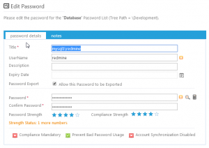 Password Management