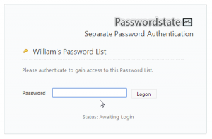 Keeping personal passwords centralized have many benefits too.